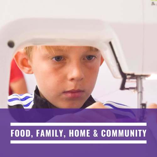 Food, Family, Home & Community