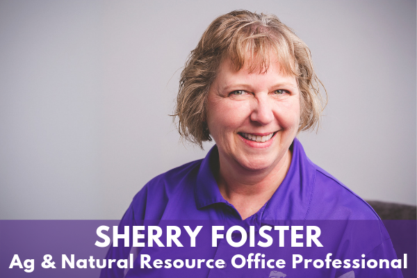 Sherry Foister - Ag & Natural Resource Office Professional